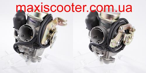 Карбюратор CVK с различными типами крепления тросика газа